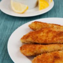 Crispy Tilapia Fingers with Lemon & Garlic Mayonnaise