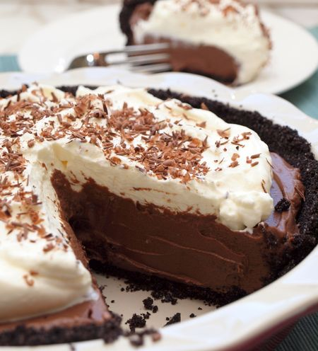 Chocolate Cream Pie For Dad - Once Upon a Chef