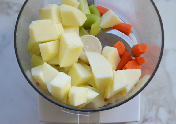 vegetable-and-apple-chunks