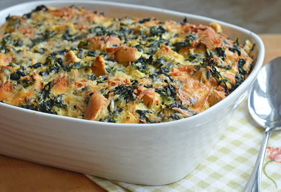 spinach cheese strata spinach and cheese strata spinach and cheese