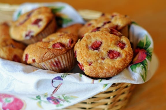 Strawberry Muffins - Once Upon a Chef