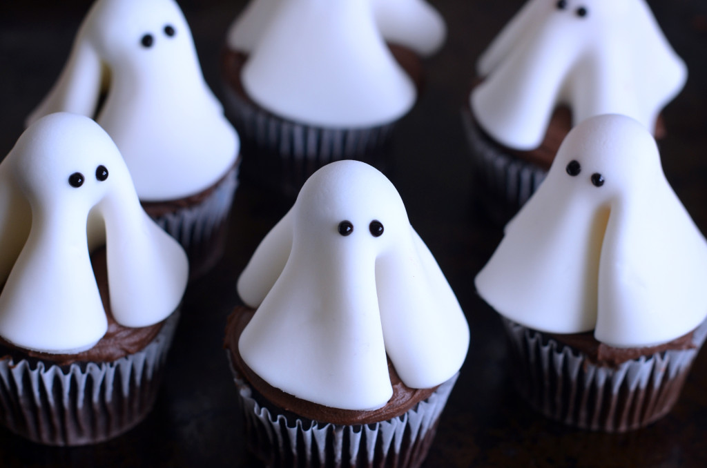 Ghost Cupcakes Once Upon A Chef