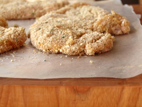 Parmesan crusted chicken 7