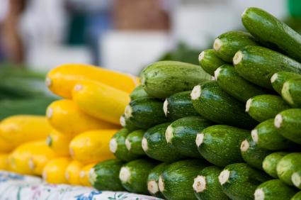 Zucchini farmers market