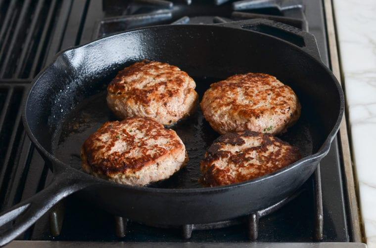 cooking turkey burgers