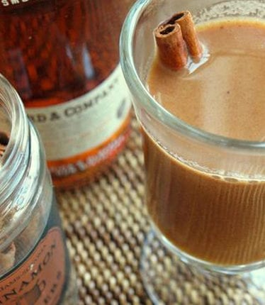hot buttered apple cider