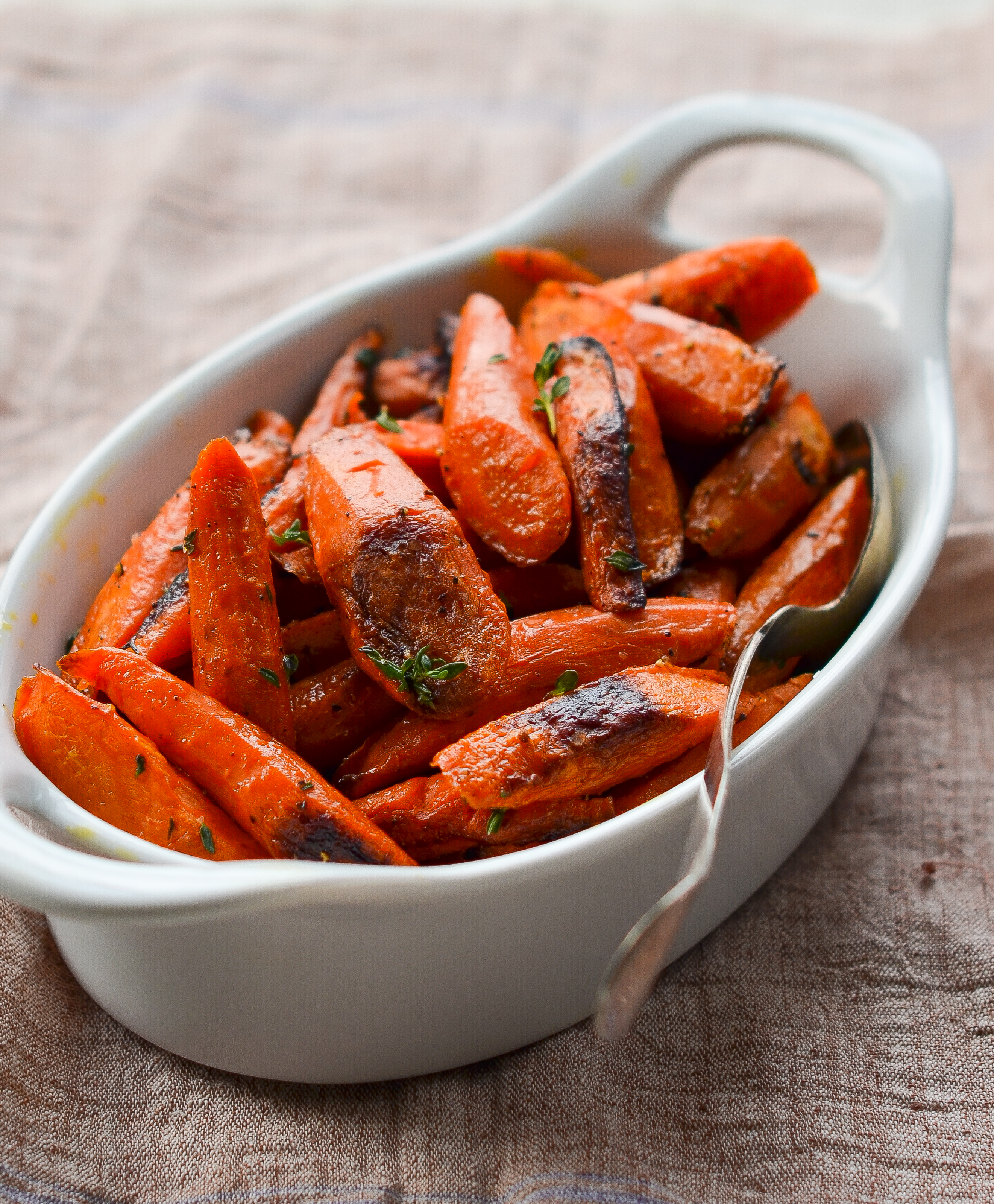 Roasted Carrots With Thyme Once Upon A Chef