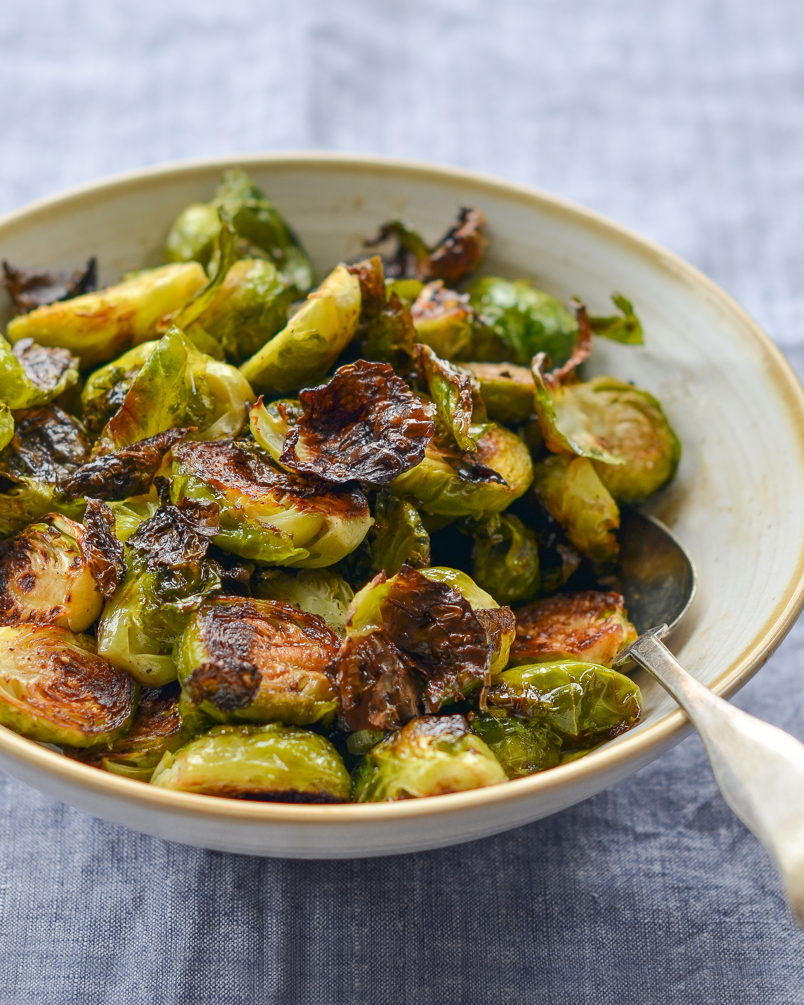 Roasted Brussels Sprouts With Balsamic Vinegar Honey