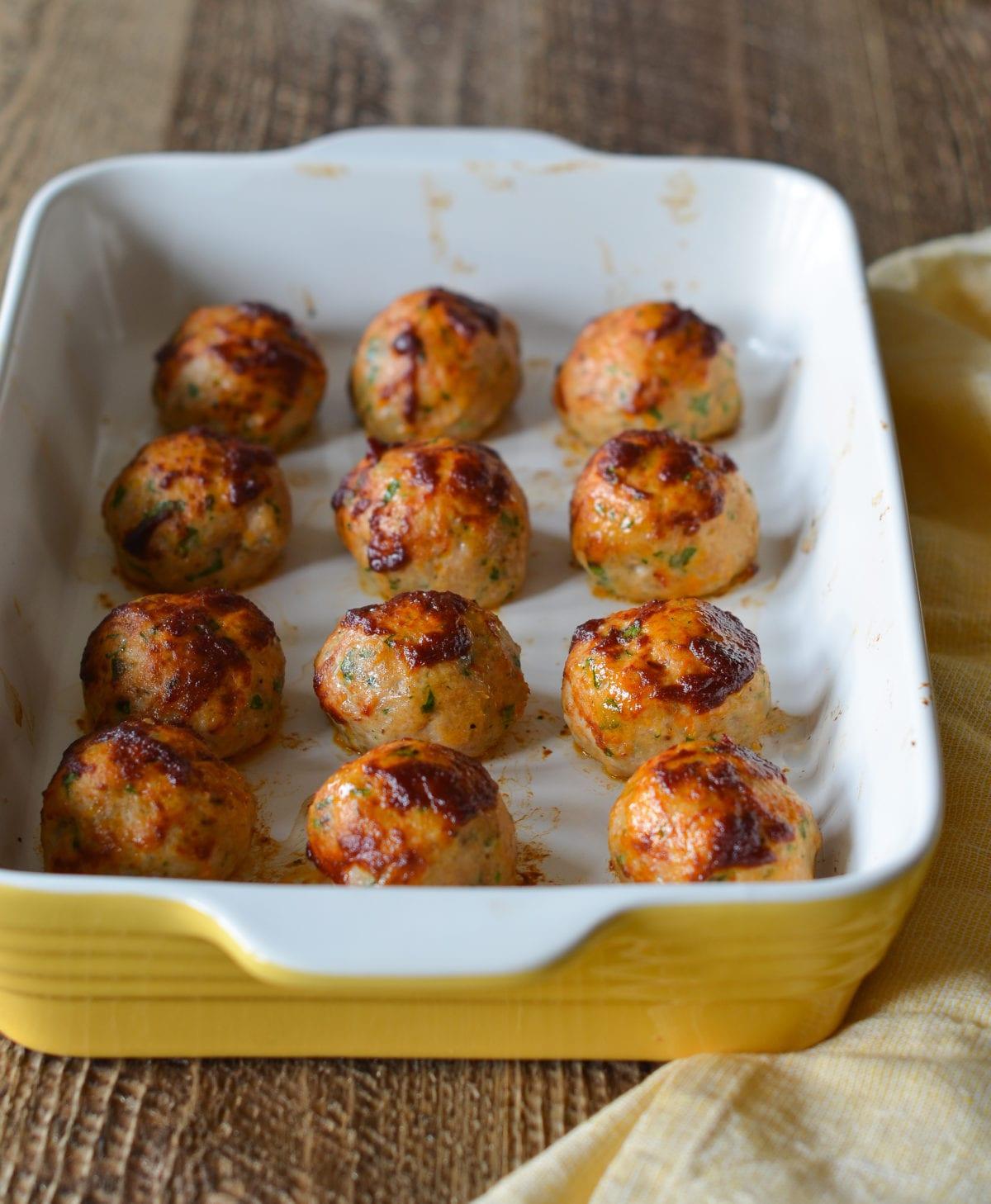2 most popular chicken meatball recipes