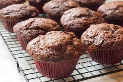 chocoholic muffins