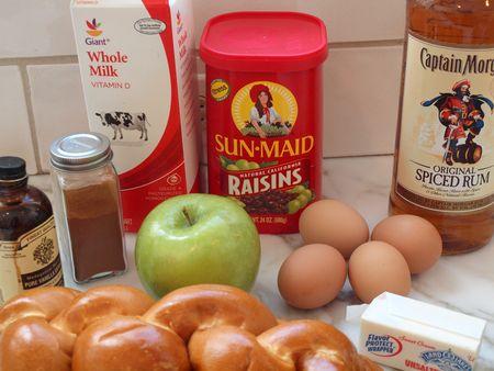 Apple raisin bread pudding 15