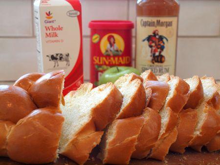 Apple raisin bread pudding 17