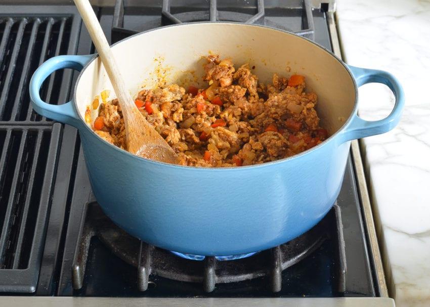 how to make chicken chili
