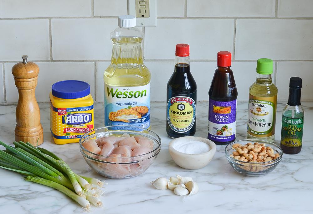 cashew chicken ingredients