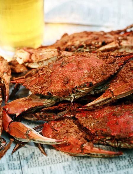 Crab cakes 9