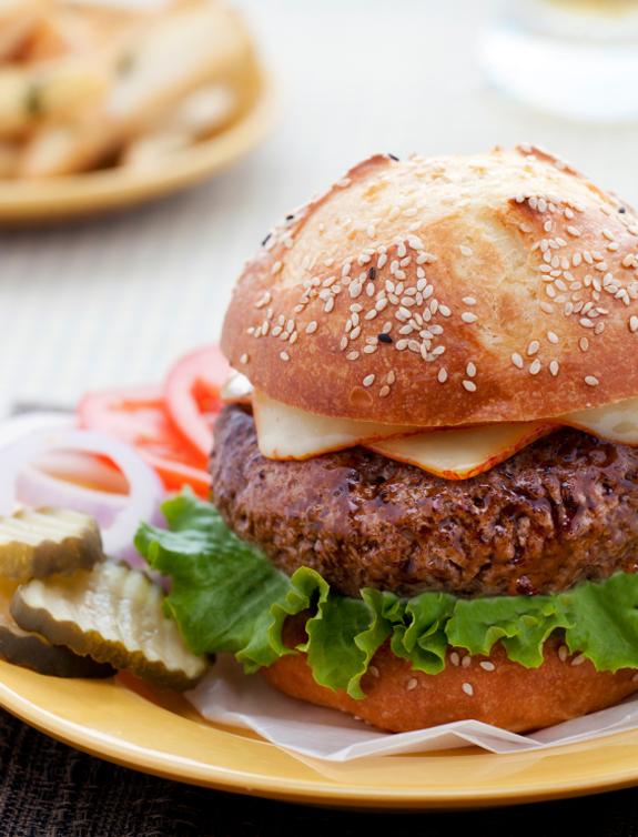 Tender, Juicy & Flavorful Steakhouse Burgers