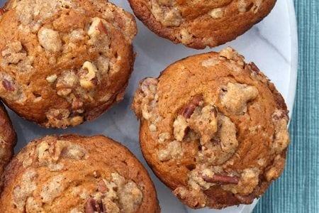 Pumpkin Pecan Crunch Muffins