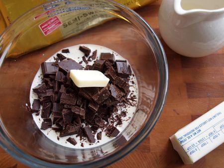 Chocolate fondue 12