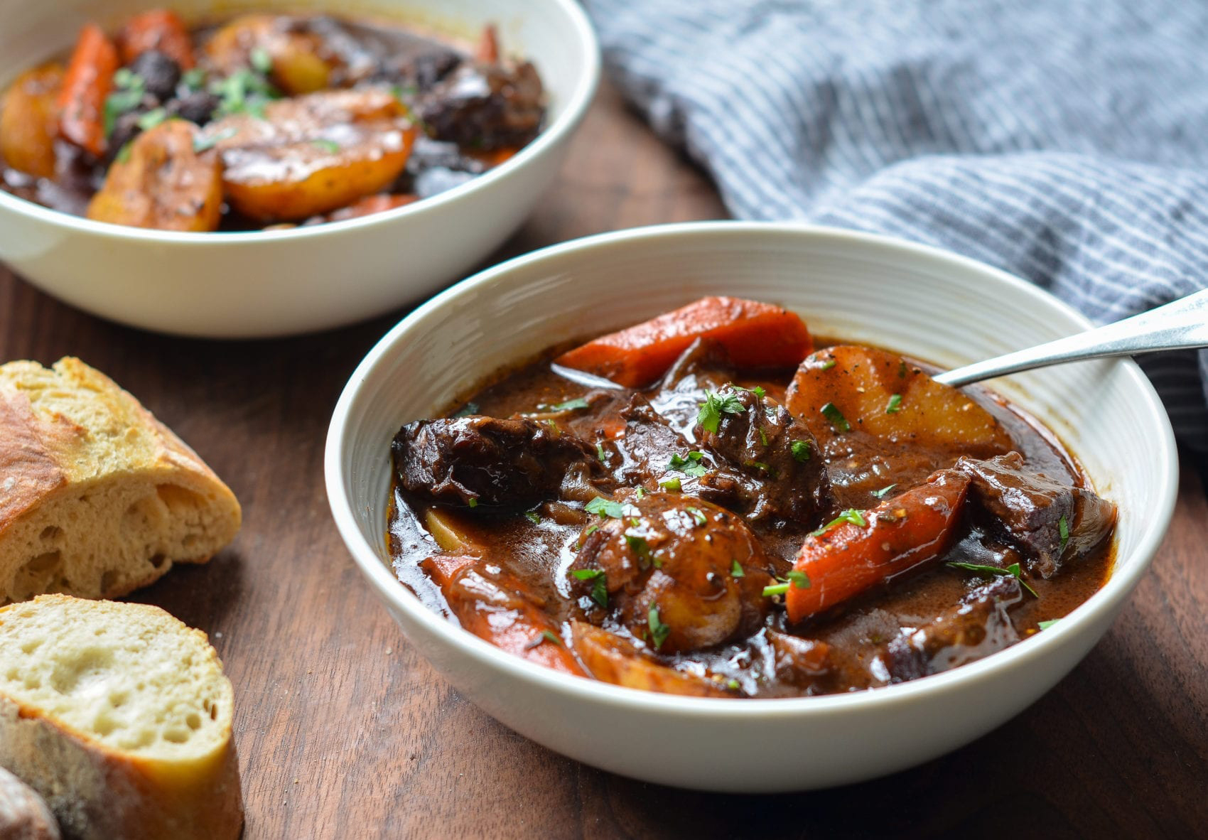 Beef Stew With Carrots Potatoes