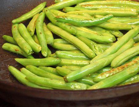 Szechuan string beans 21