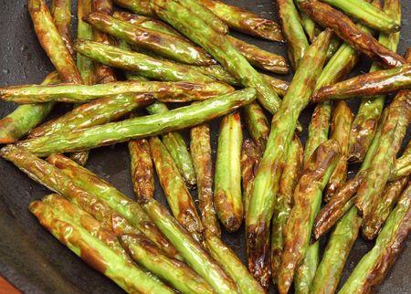 Szechuan string beans 20