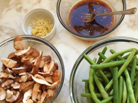 Szechuan string beans 18