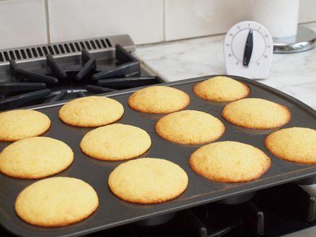 Cornbread muffins 3
