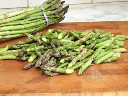 Asparagus and peas 12