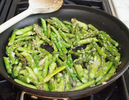 Asparagus and peas 7