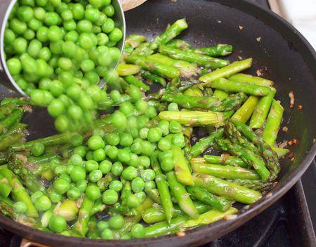 Asparagus and peas 6