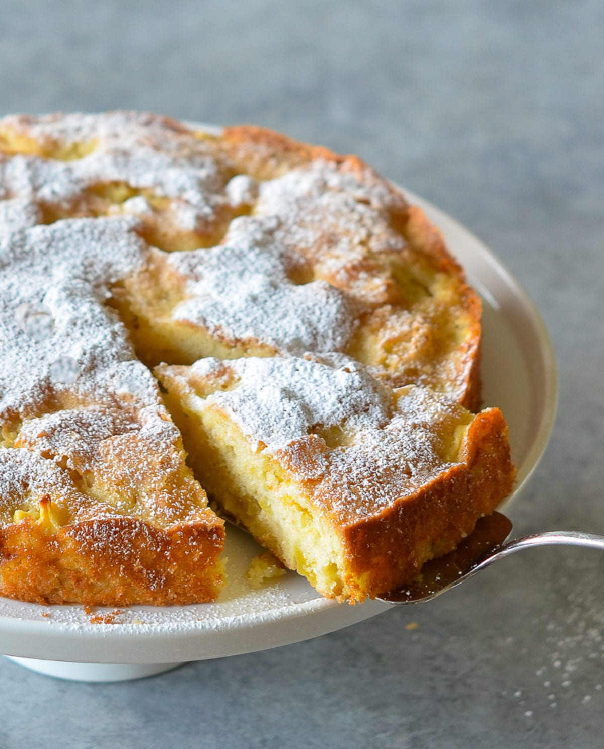Summer Apple Desserts: French Apple Cake
