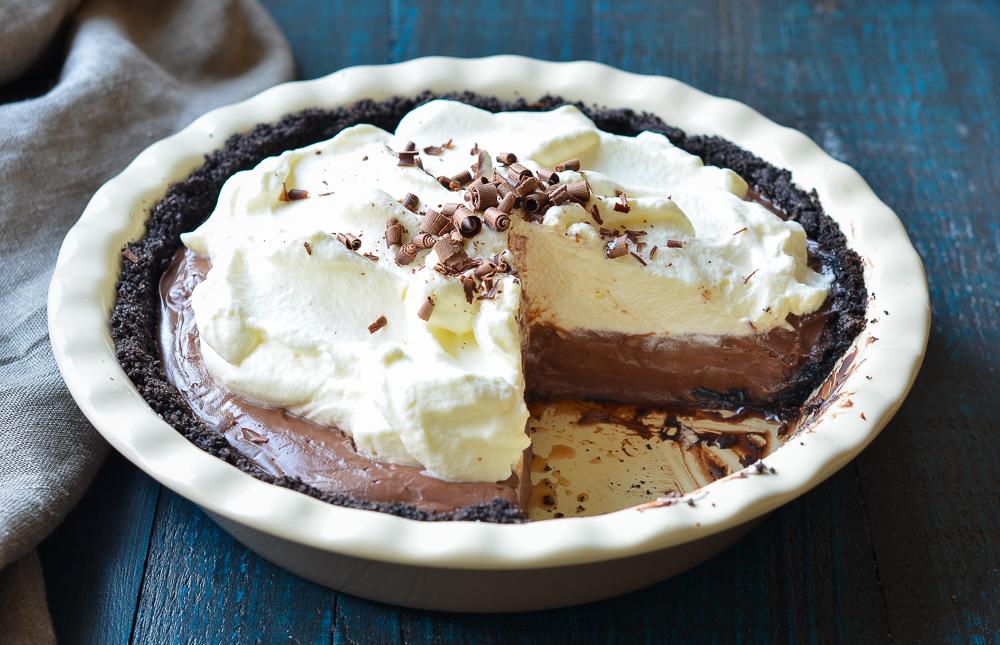 how to make chocolate cream pie