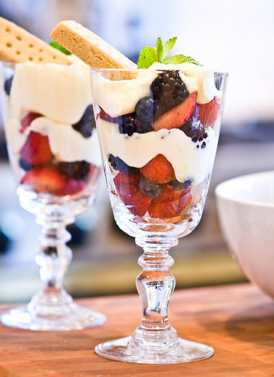 Lemon Berry Parfaits Once Upon A Chef