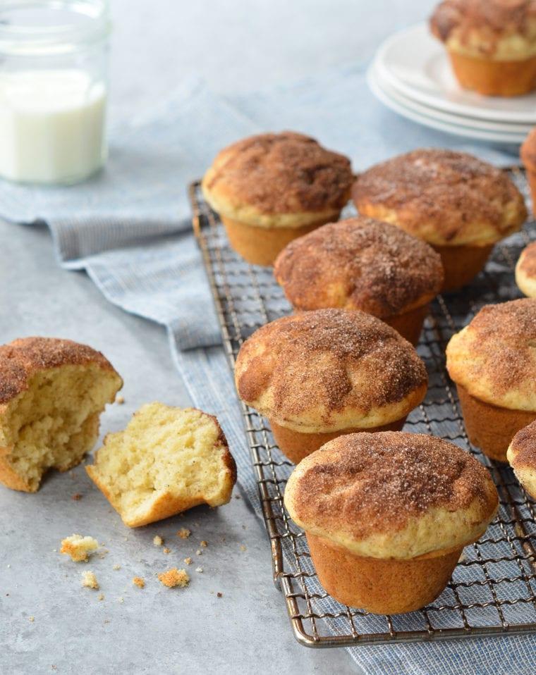 Muffin Tannenbaum.Doughnut Muffins