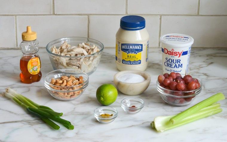 curried chicken salad ingredients