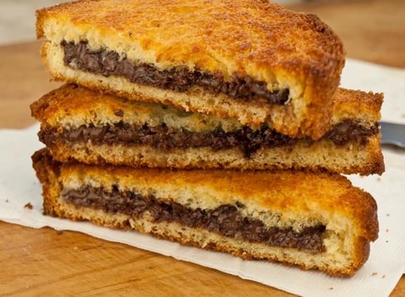 chocolate paninis