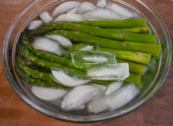 Asparagus Salad with Creamy Dijon Mustard Sauce and ...