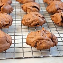 Fudgy Double Chocolate Meringues (Gluten Free)