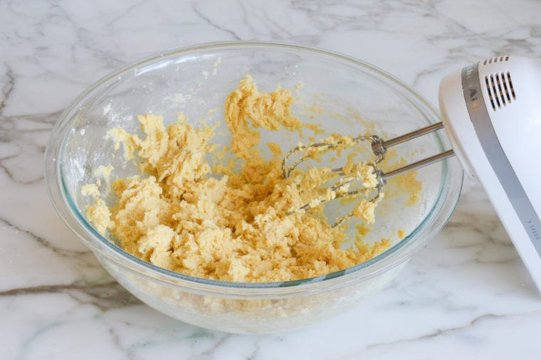 cornmeal cookie batter