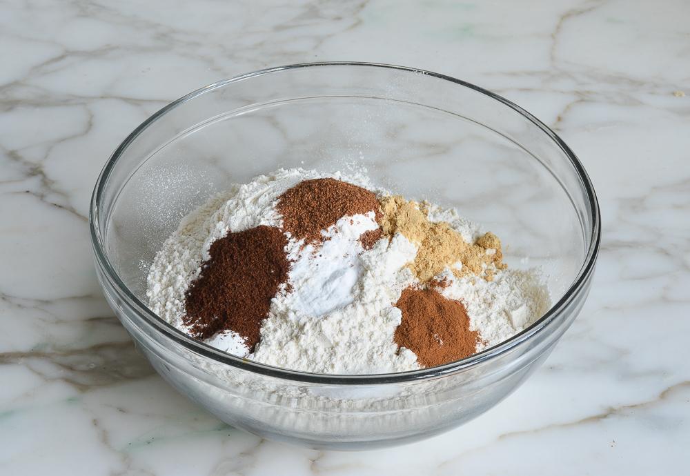 Dry Ingredients | Vegan Pumpkin Bread Recipe