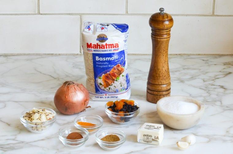 rice pilaf ingredients