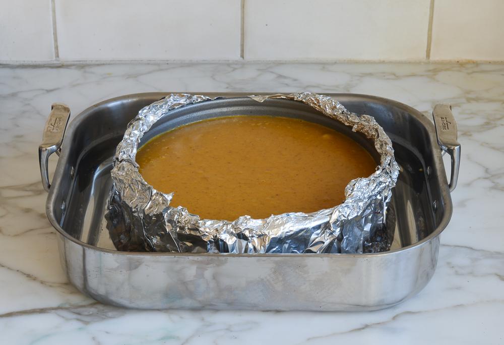 how to make pumpkin cheesecake