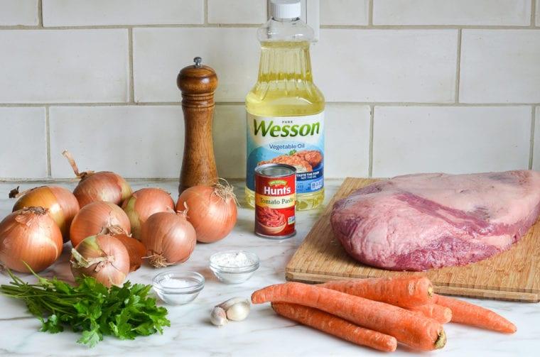 brisket ingredients