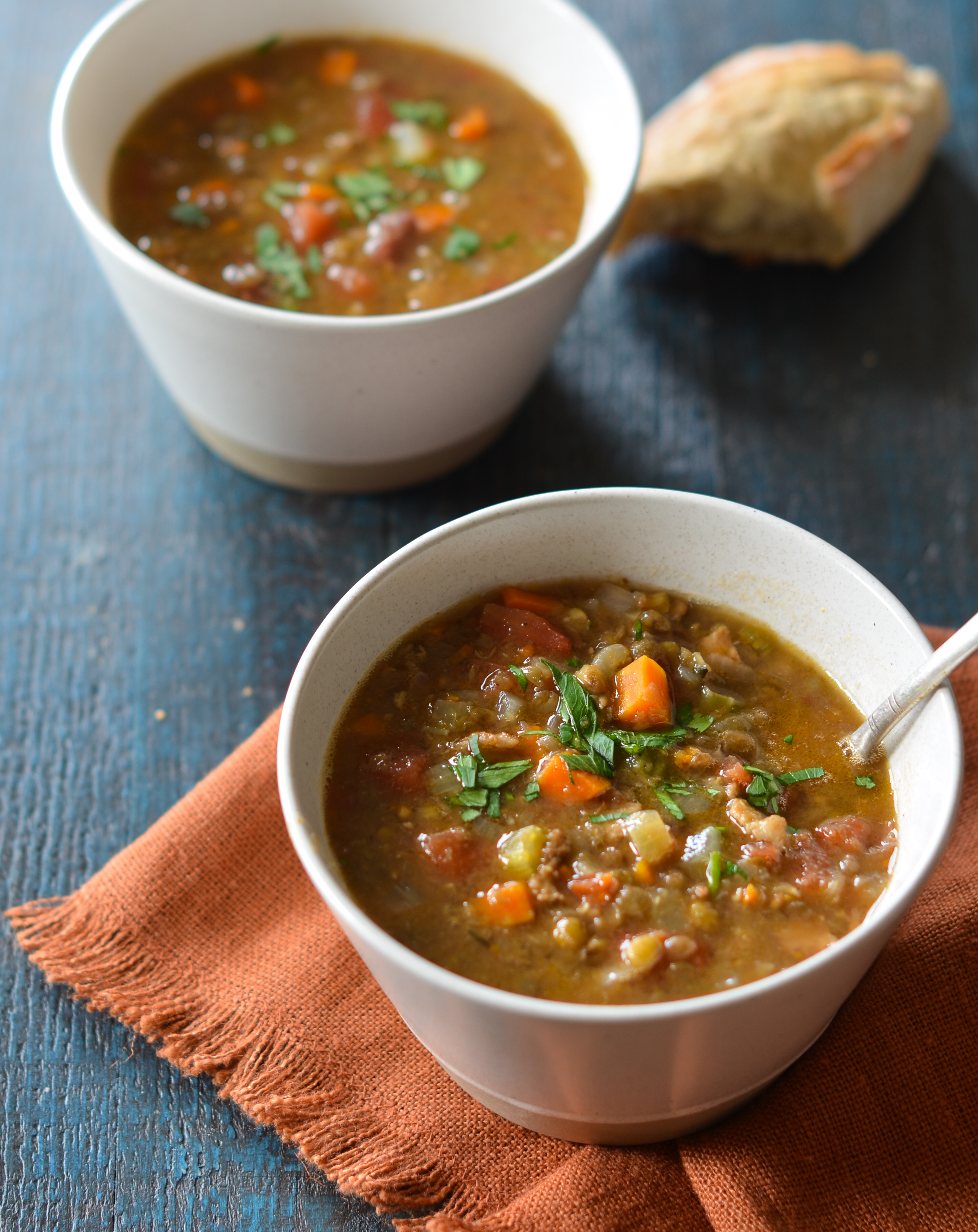 French Lentil Soup - Once Upon a Chef