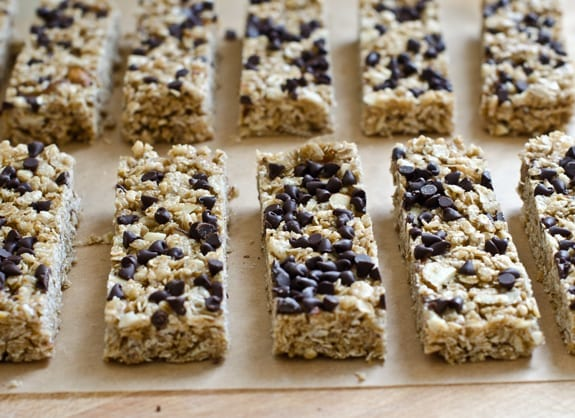 Chewy chocolate chip granola bars once upon a chef granola bars ccuart Choice Image