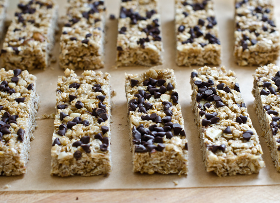 Chewy chocolate chip granola bars once upon a chef ccuart Images
