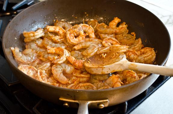 Ginger Garlic Chili Shrimp