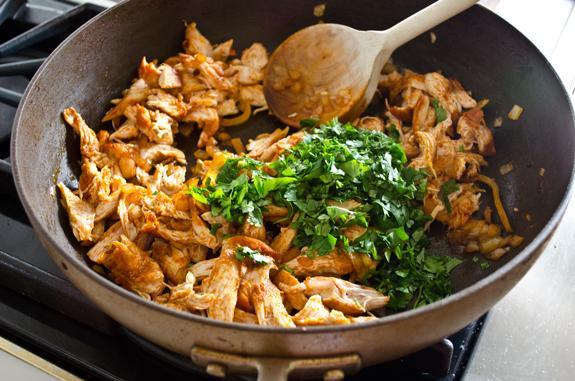 adding-cilantro
