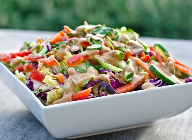 California Pizza Kitchen Thai Crunch Salad Ingredients