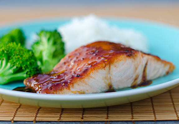 pan-seared-salmon-with-soy-mustard-glaze